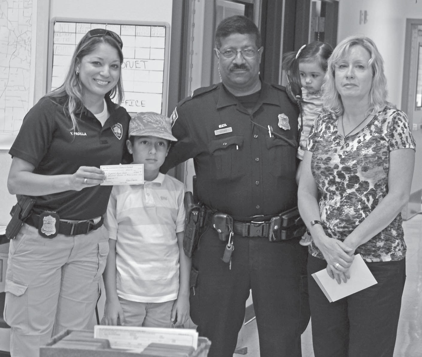 $9,000 donation to Stephanie Brown Memorial Fund