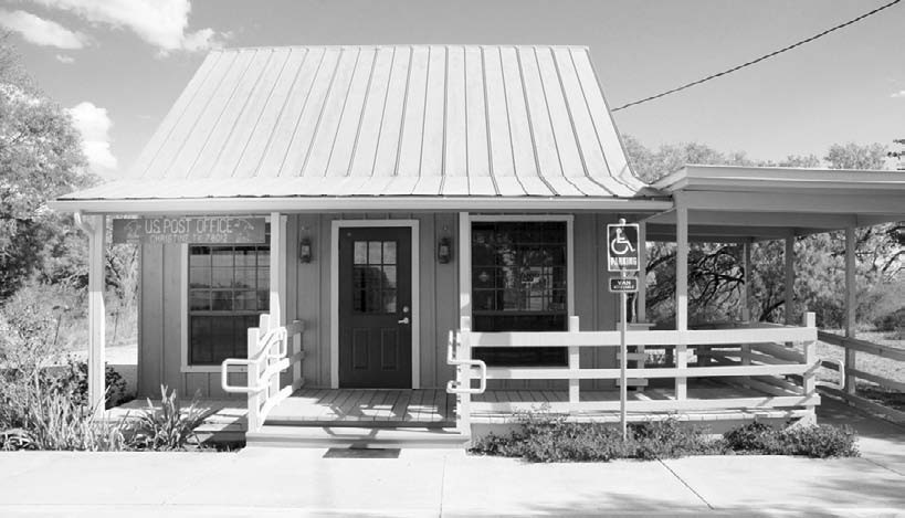 Christine, Texas Post Office