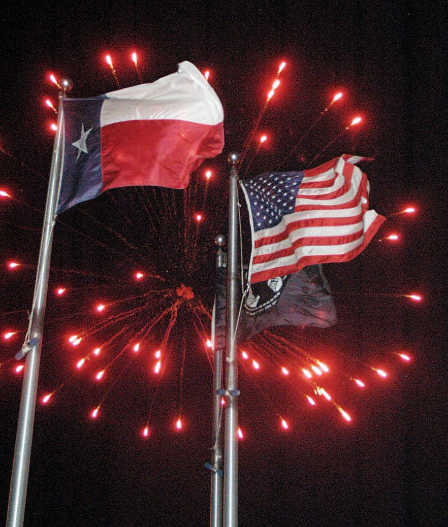 About 3,000 follks turned out for hot dogs, sodas and patriotic fun, complete with fireworks at the Jourdanton American Pride Day held on July 4th at the Jourdanton City Park.