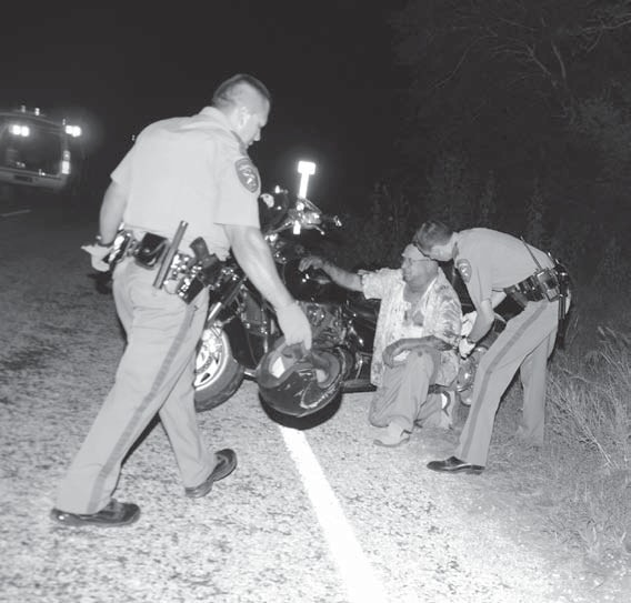 DPS Troopers worked an accident caused by wild hogs on FM2146 near SH 173 on July 28.