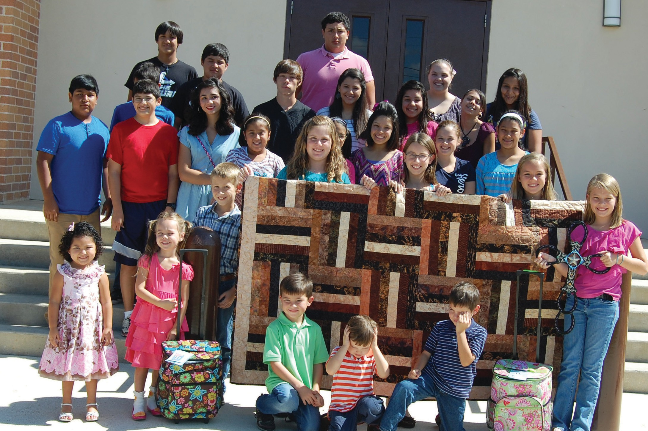 The youth of St. Matthew's Catholic Church invite everyone to their annual church picnic this Sunday. Lots of good food, fun and a great auction will be enjoyed. Serving starts at 11 a.m. and the barbecue plates are only $7. Bid on the beautiful quilt displayed and lots more items.