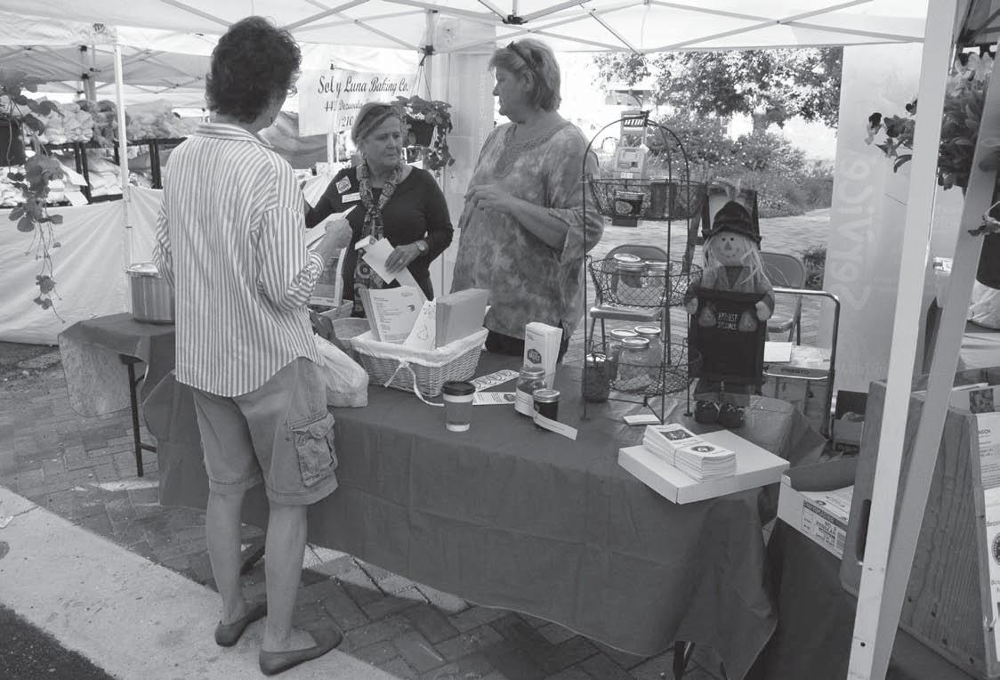 Program generates interest at Pearl Farmers Market