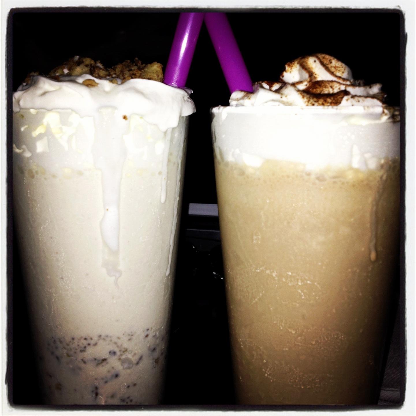 Milkshakes from Alamo Drafthouse