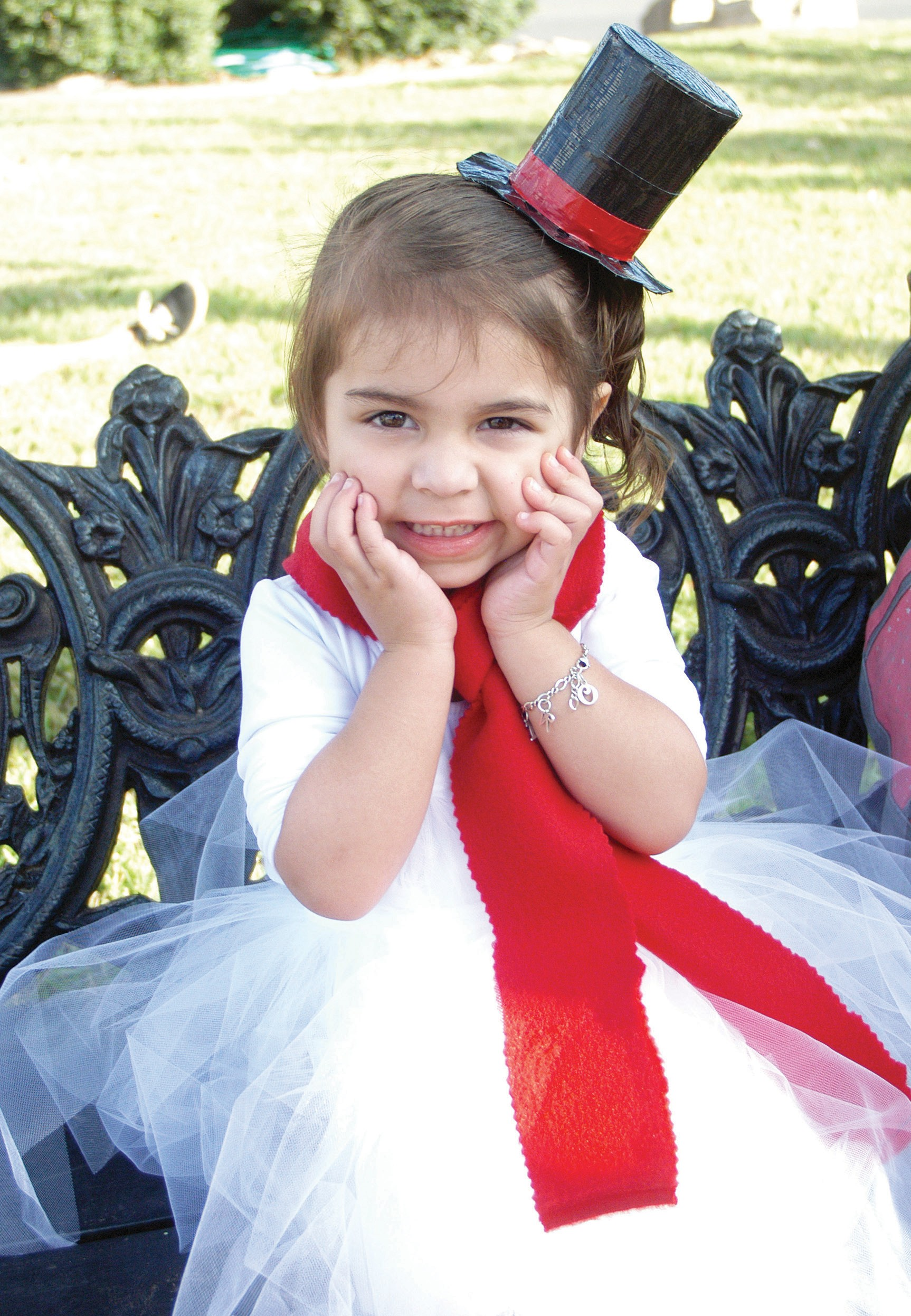 """""""Oh by gosh, by golly... I hope I don't melt,"""" says little Rossalyn Bazan. She danced to """"Frosty the Snowman"""" at the Brush Country Christmas with Kid Nation earlier this month. A warm South Texas greeting wishing everyone a safe, happy and healthy Christmas."""