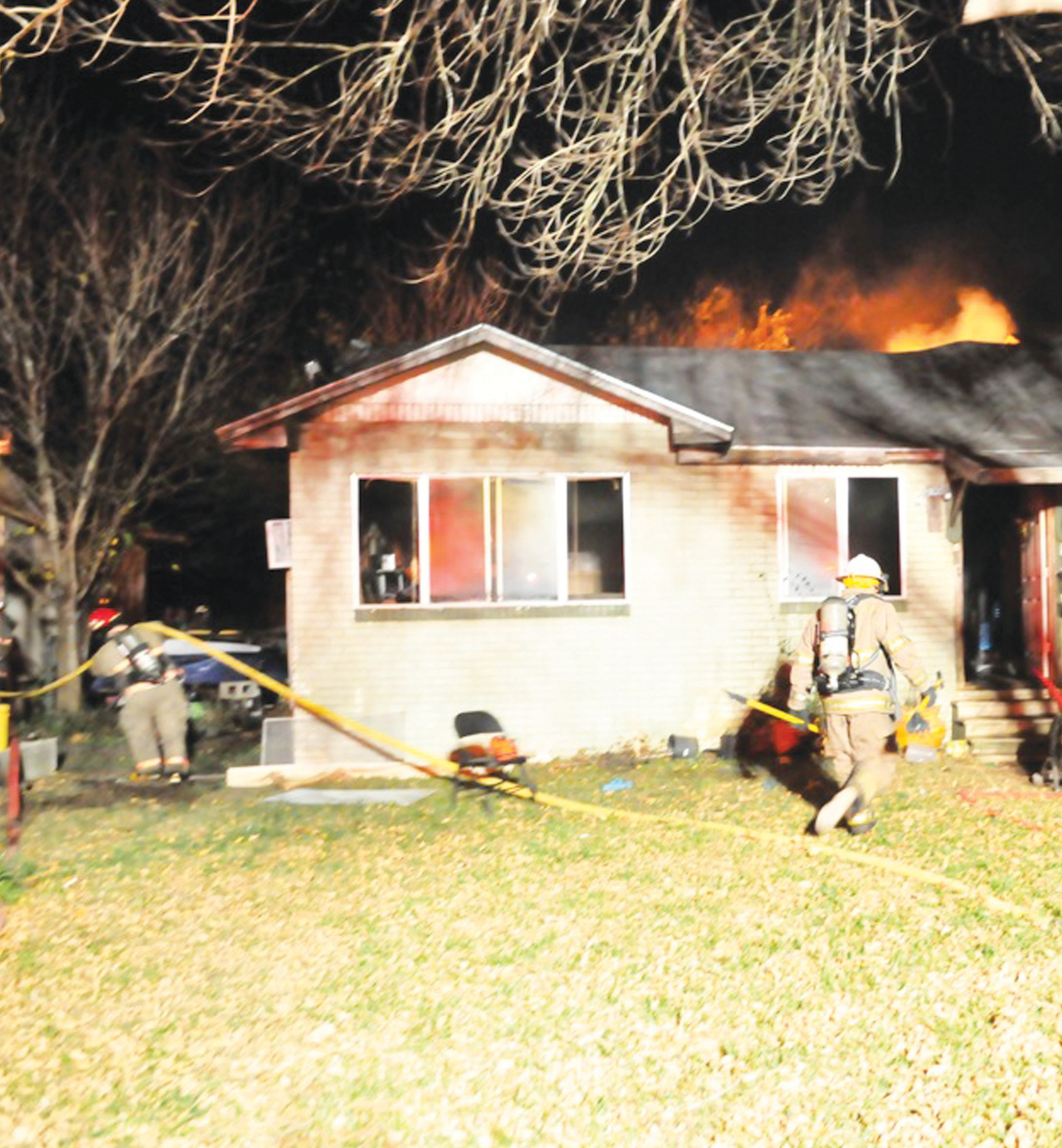 An accidental fire erupted from a space heater at a home near Brown and Olive Streets in Jourdanton on Thursday, December 27. According to Atascosa County Fire Marshal Chuck Garris, the fire caused about $25,000 in damage. Both the Jourdanton and Pleasanton Volunteer Fire Departments responded and helped to control the blaze.