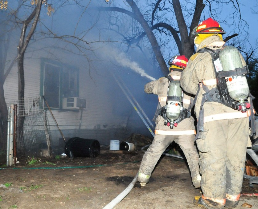 An Ormand St. home belonging to David and Denise Martinez went up in flames on Wednesday morning. The cause was a faulty space heater and the home was a total loss.