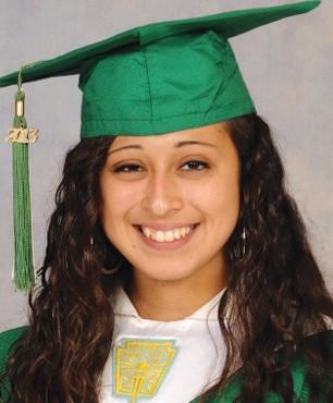 Gabriella Gonzales Pleasanton High School – Valedictorian –