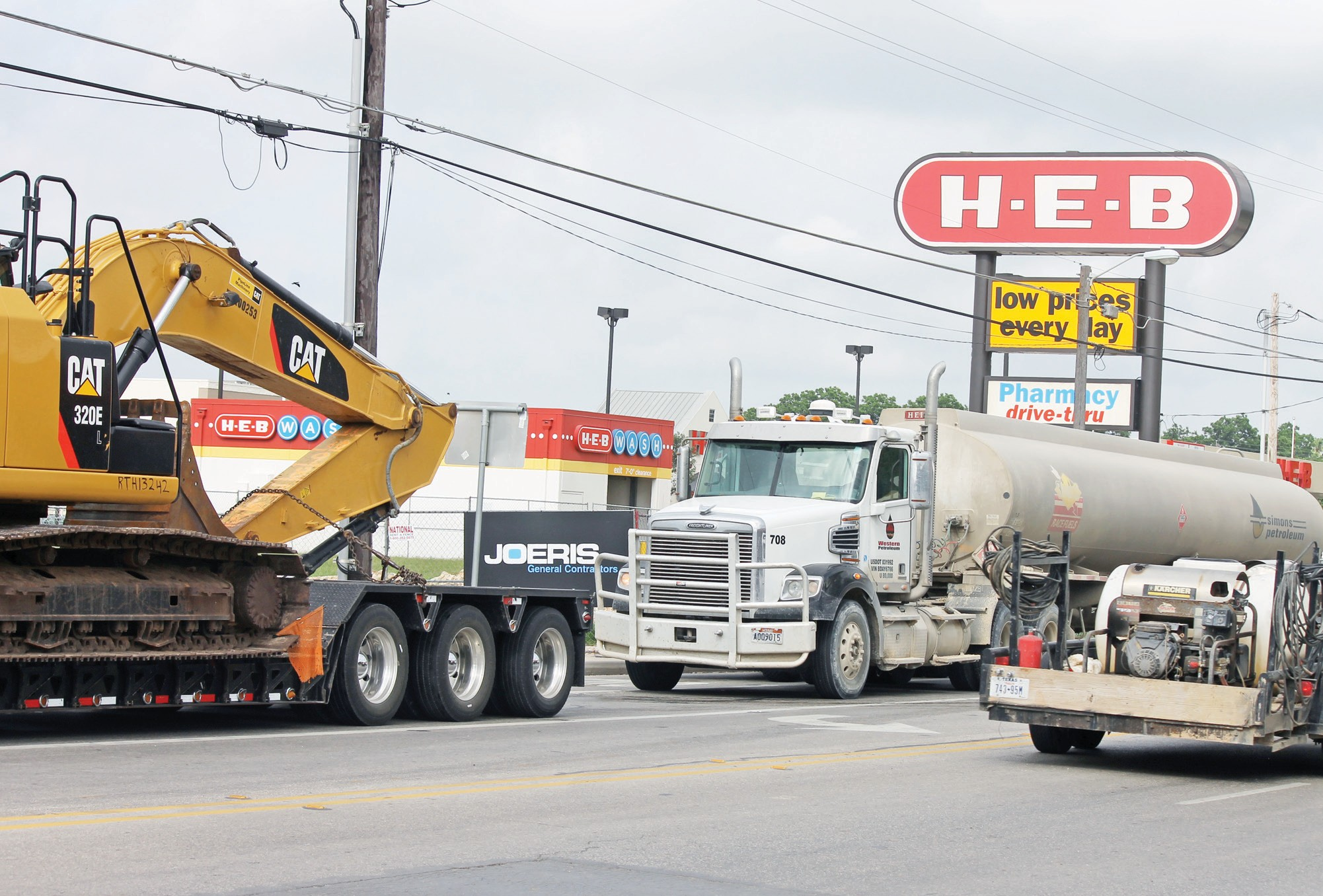 Eagle Ford Shale oil field activity has increased business at H.E.B. in Pleasanton.