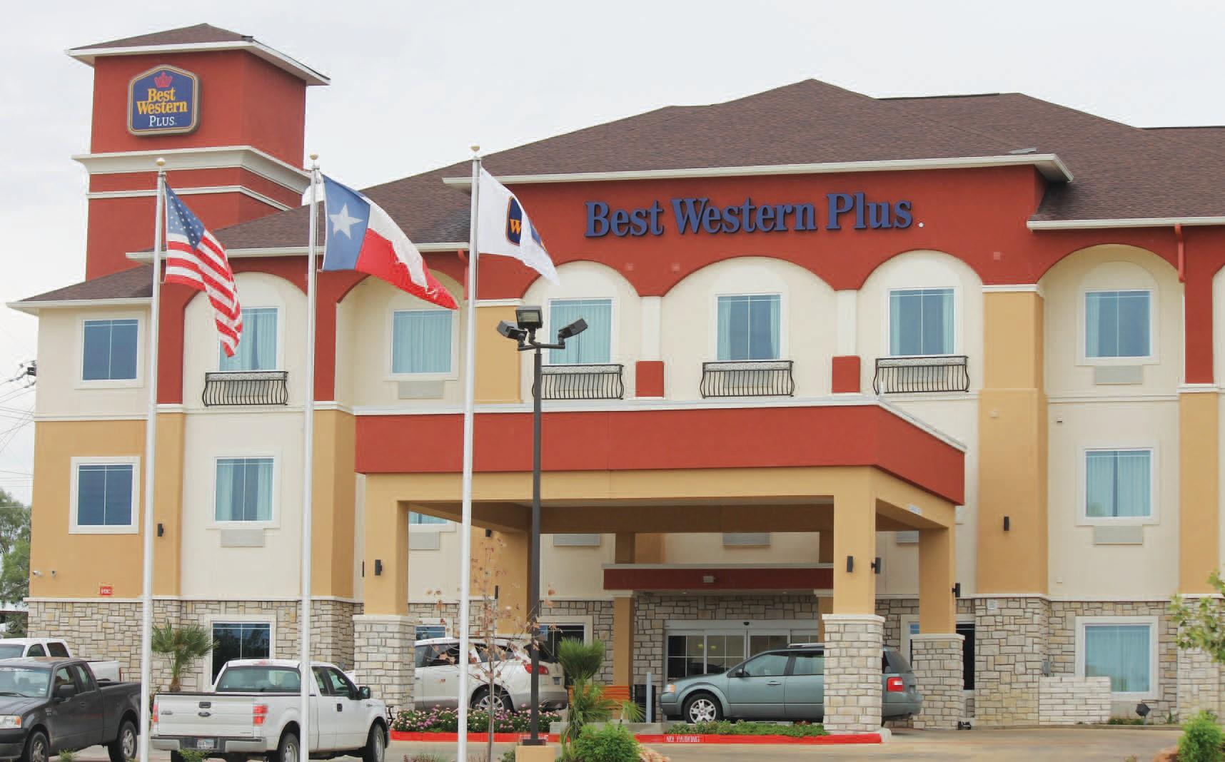 New 59 room Best Western Plus Hotel on Oaklawn.