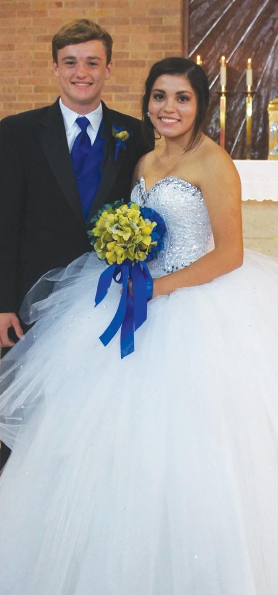 Jillian Olivarri and Will Chaney