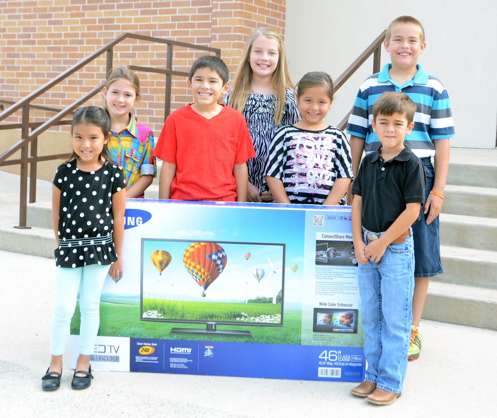 These kiddos are ready for picnic fun at St. Matthew Catholic Church's annual event this Sunday, September 29. Enjoy the delicious barbeque dinner - served from 11 a.m. until 2 p.m. - and bid at the huge auction starting at 12:30 p.m. There will be lots of kids games, bingo, kolache booth and more. Left to right are: Marissa Chapa, Brooke Rankin, Aiden Guzman, Claire Vyvlecka, Josalyn Segura, Michael Howard and John Bautista.