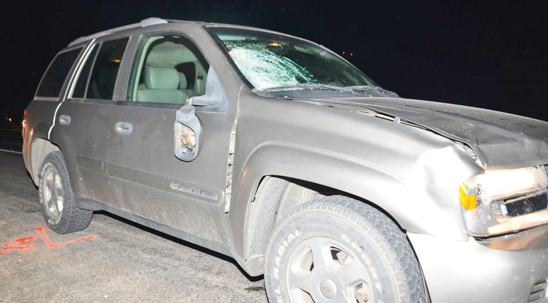 James Edward Hale died when an SUV struck him on Highway 16 Tuesday, Oct. 1.