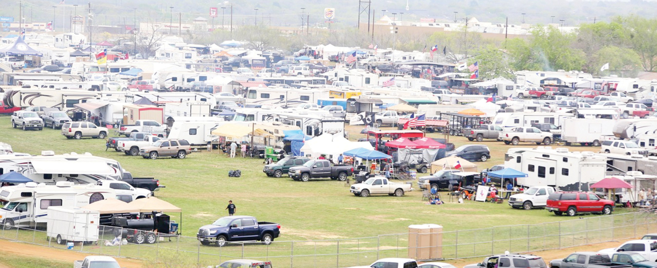 A large crowd made their way to the 4th Annual Turn-n-Burn held this past weekend at the Atascosa County Showbarn.