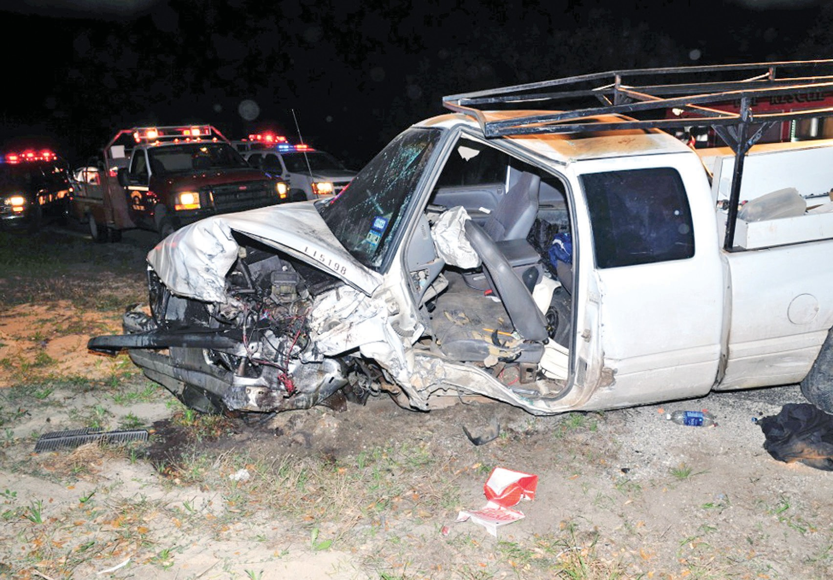 A truck and a car collided on Highway 281 in Leming, north of FM 536 Friday, March 21 around 2 a.m. The driver of the car, Reyshanda Davis of San Antonio, 25, was killed in the crash. The DPS crash synopsis says that Davis was driving in the southbound lane of 281 and Nino Sanchez of San Antonio, 39, was driving the truck north in the southbound lane. According to DPS, Sanchez struck the guardrail and lost control crashing into Davis' car. Riding with Davis were Cheyanne King, 22 and LaJoy King, 20.