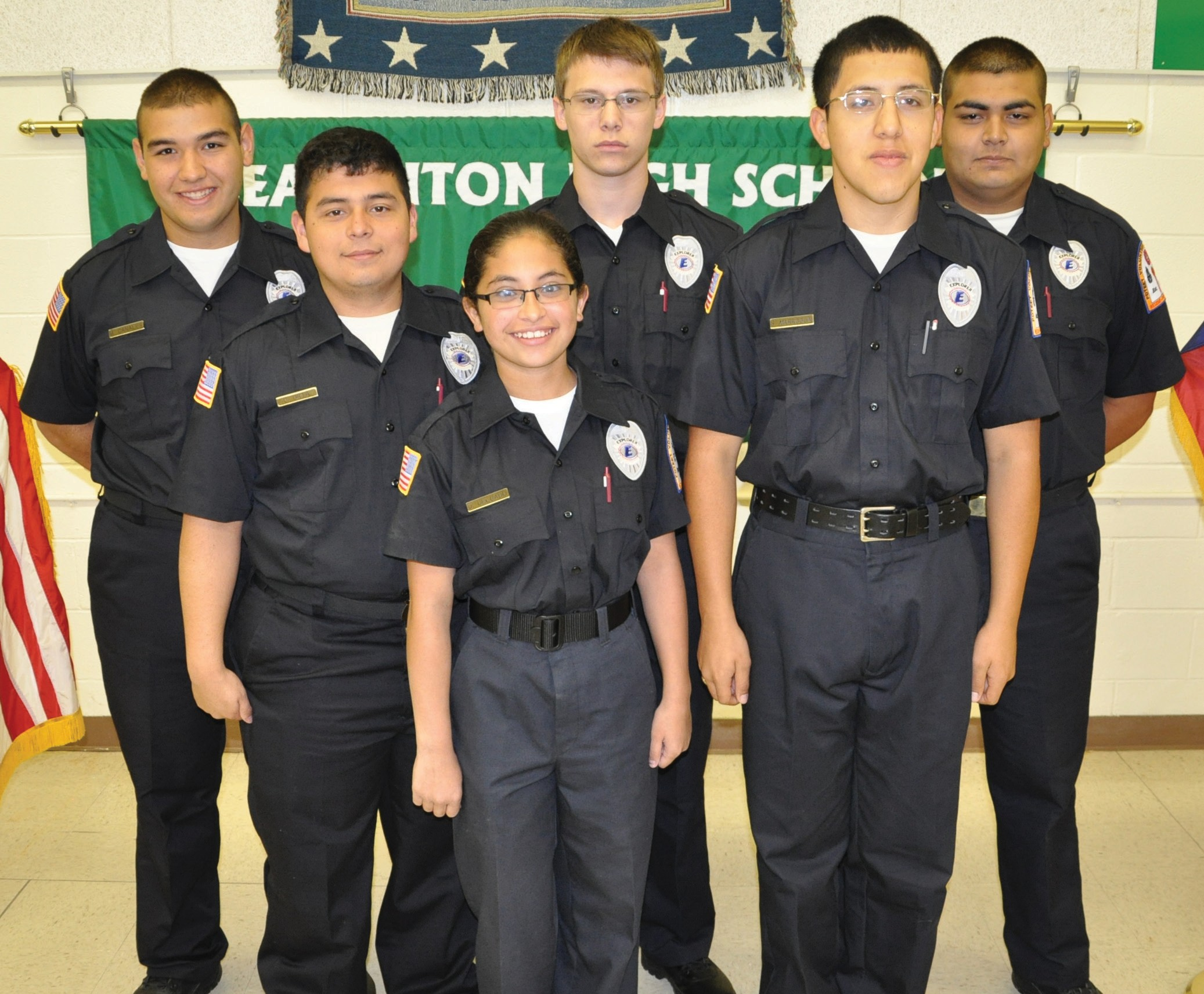 Poteet 'Explorers' Firefighters earn trophies and badges