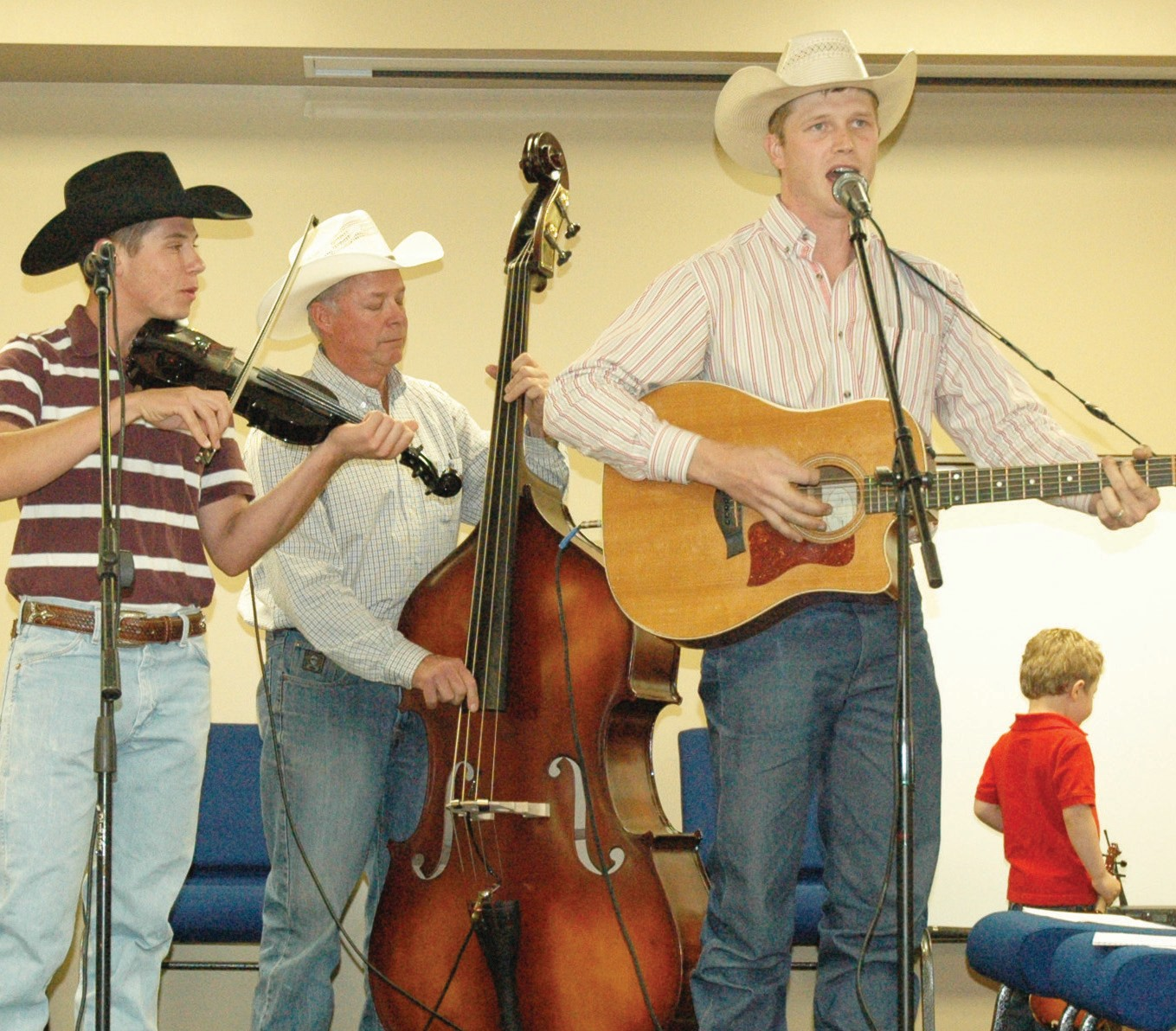 Entertainment for the return of the Taste of Atascosa will be provided by Wade Hill, Toby Hill and Brian Anderson. Set for tomorrow, Thursday, June 26, area businesses will feature their signature dishes to be sampled throughout the evening. Sponsored by the Pleasanton Chamber of Commerce, the event begins at 6 p.m. and will also feature live and silent auctions. It will be held at the Pleasanton Civic Center, 115 N. Main Street. Tickets are $10 for adults and $5 for children under 10.