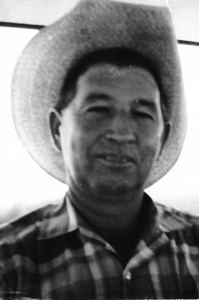 "C. S. ""Pete"" Mangum in an early photo. Pete was inducted into the South Texas Cowboy Hall of Fame at the Young Farmers' rodeo."
