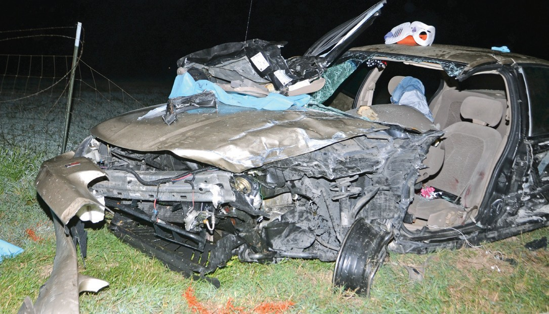 A two car collision resulted in a fatality October 18th on Hwy 16 a few miles north of Poteet.