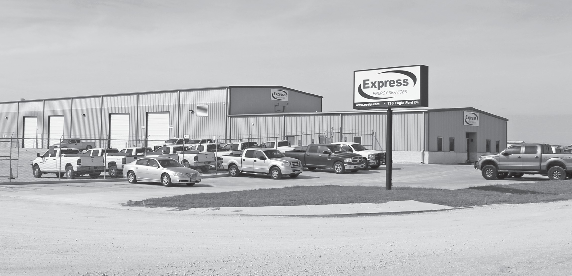 Express Energy Services facility located at 716 Eagle Ford Drive
