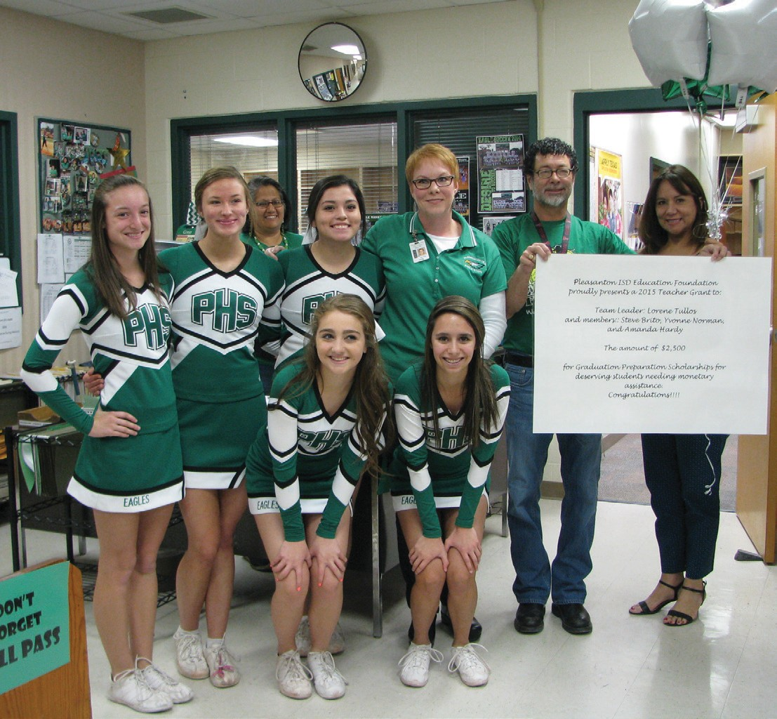 The PHS counseling department received $2,500 to help fund scholarships for students.