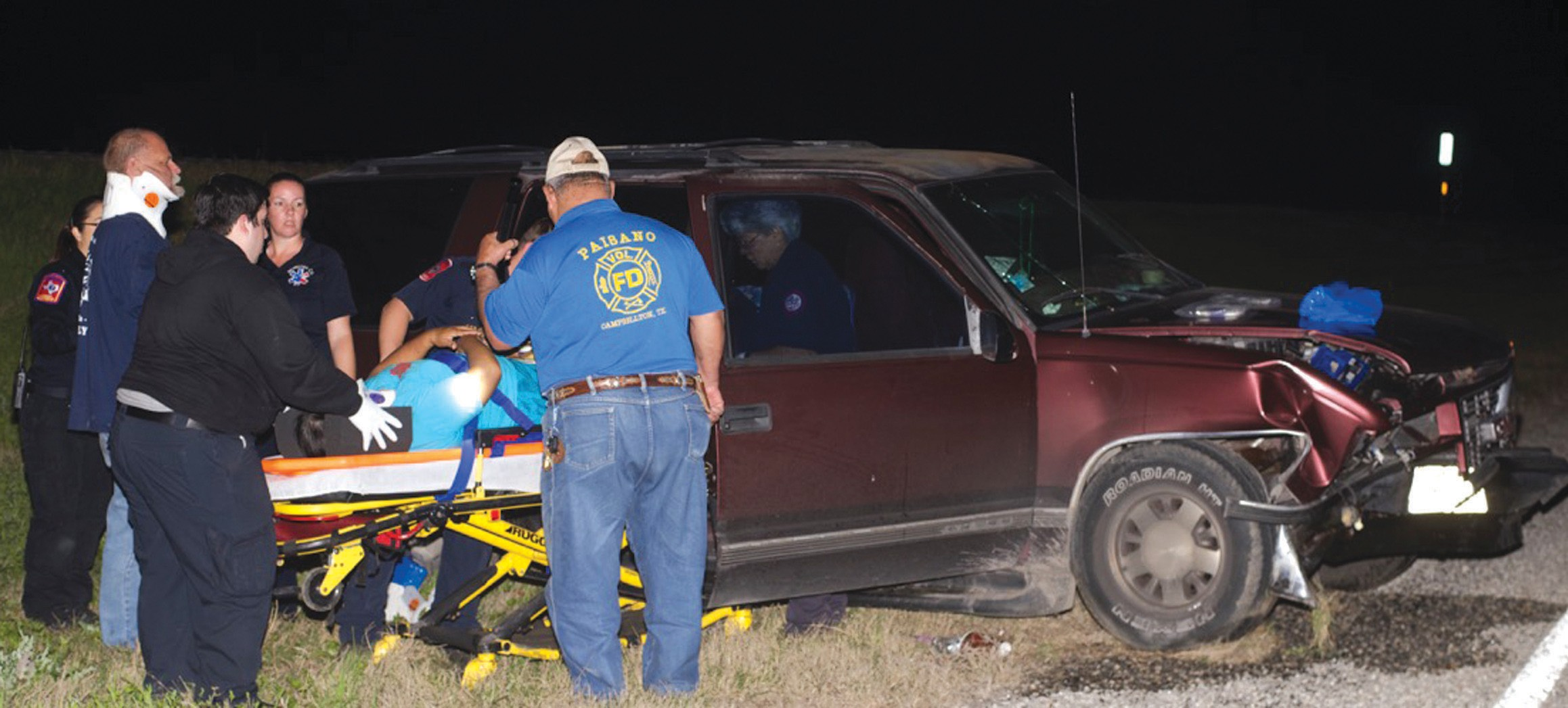 Atascosa County law enforcement agencies responded to a three vehicle accident late Saturday night, March 14, involving a motorcycle fatality. The accident occurred on IH-37, around mile marker 96.