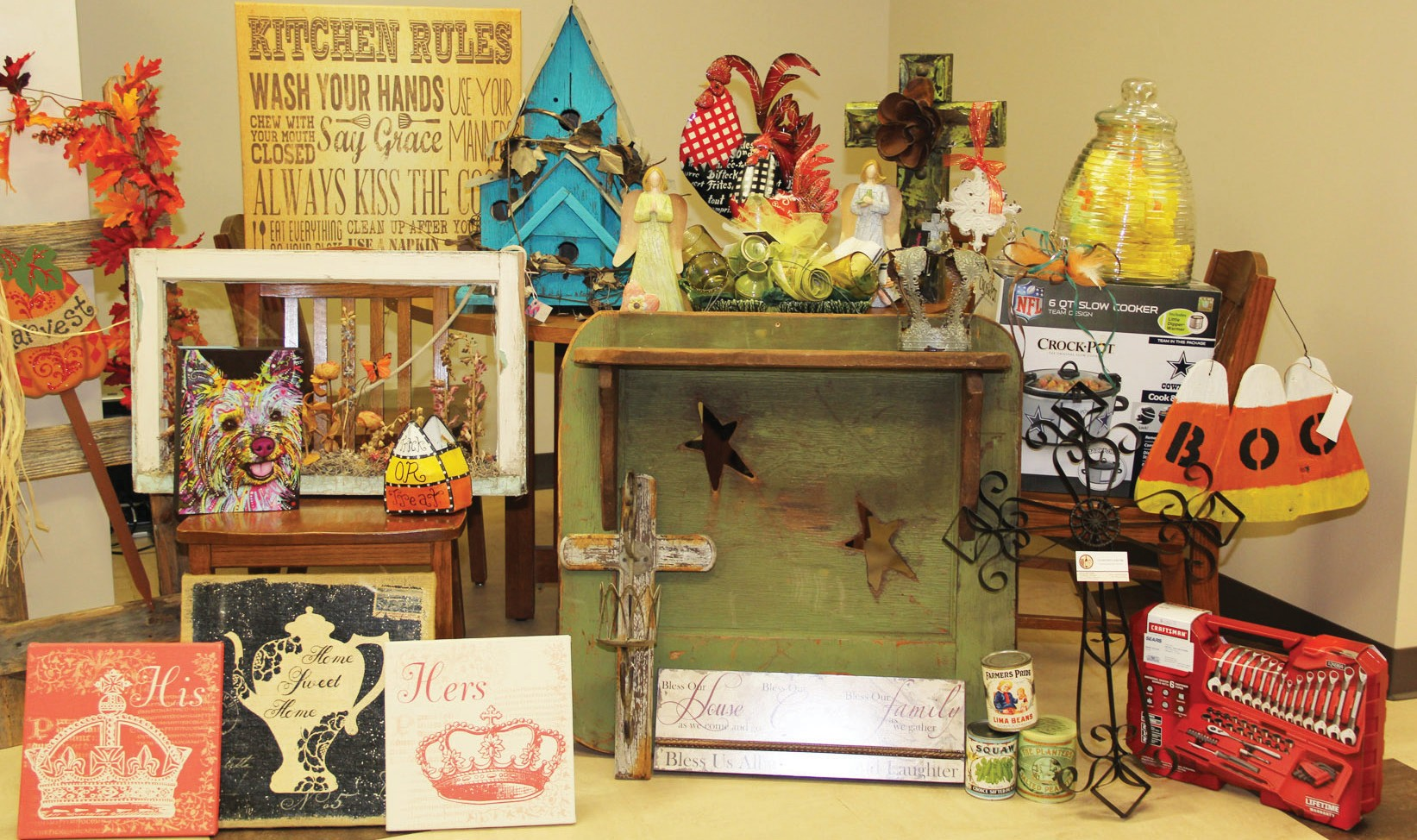 The Friends of the Pleasanton Library have gathered quite the silent auction items for their annual event next Thursday, September 24 at the Pleasanton Civic Center.