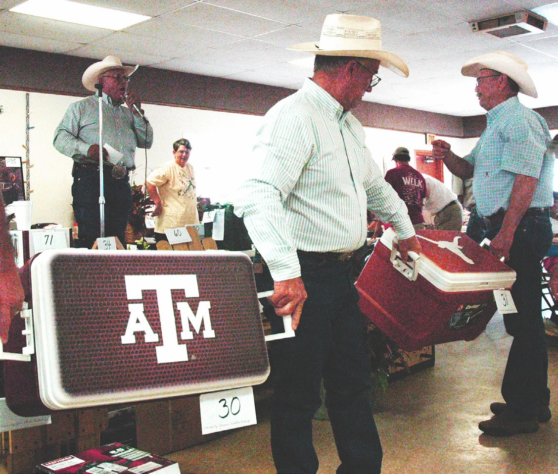 St. Matthew Catholic Church picnic and auction is always a favorite - especially the dueling university ice chest items. Serving begins at 11 a.m. this Sunday with the auction starting at 12:30 p.m.