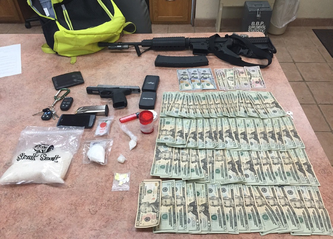 Over $49,000 worth of drugs and $1,900 in cash were seized during a high speed chase by the Atascosa County Sheriff's Office.
