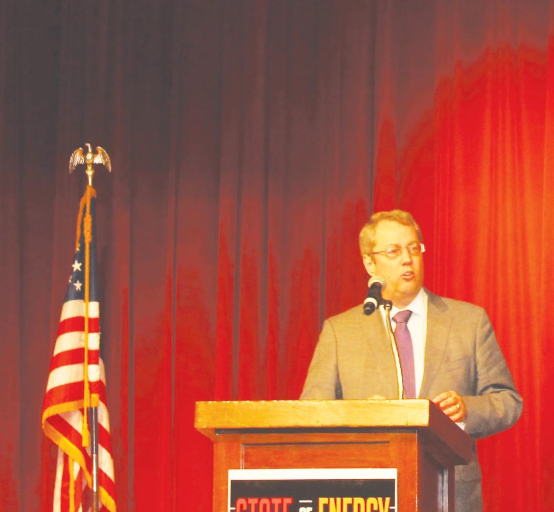 Texas Railroad Commission Chairman David Porter.