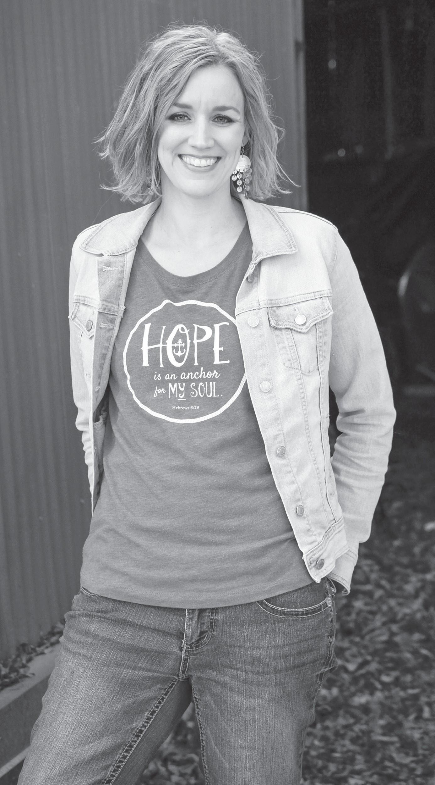 Heart Work Tees founder, Sarah Keeling