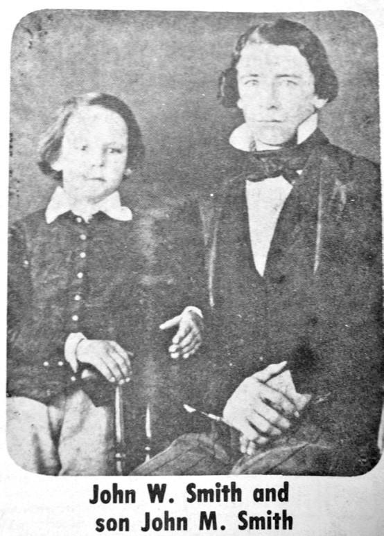 John W. Smith and son John M. Smith