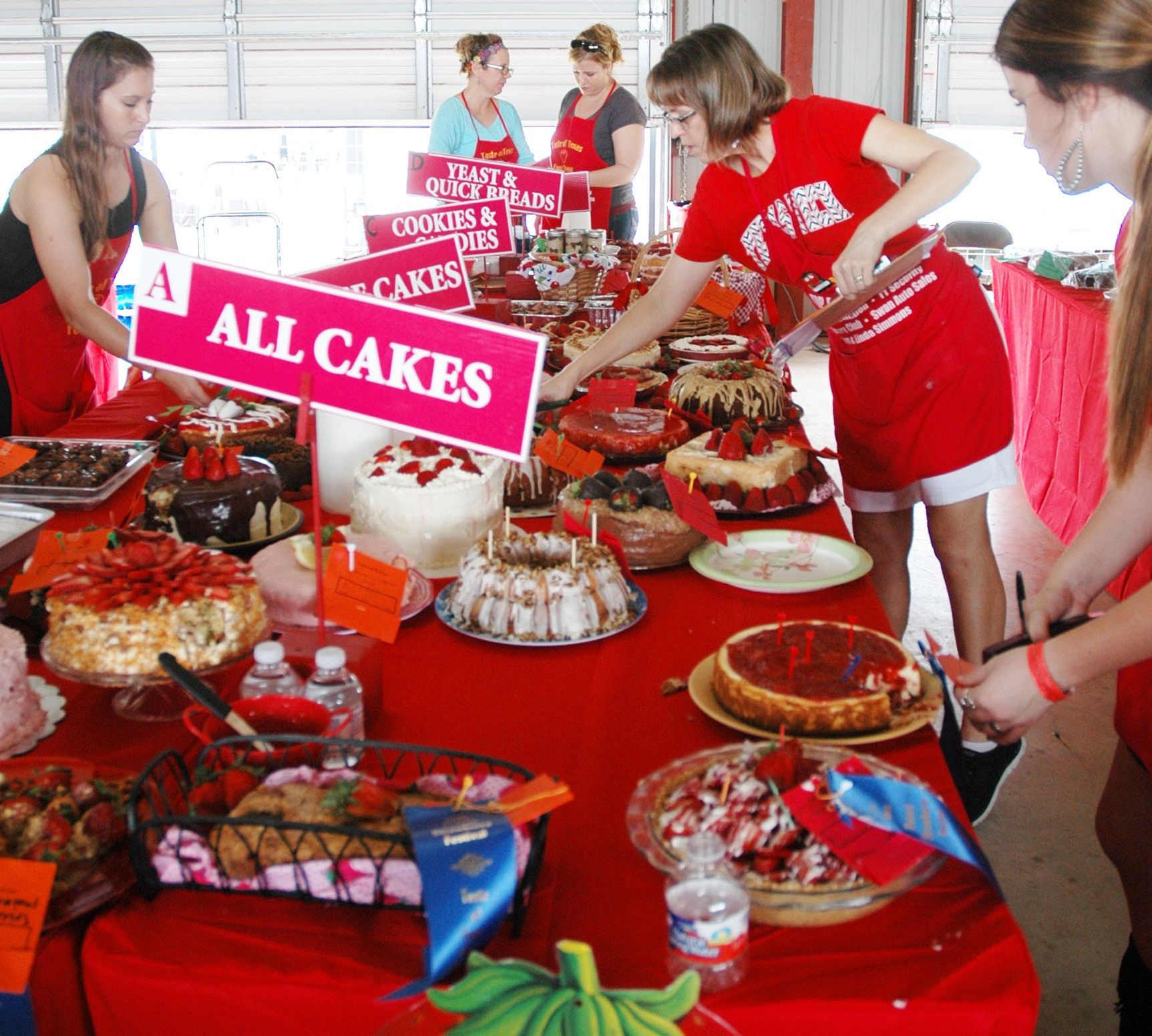 The judges and event organizers had their plates full at last year's Poteet Strawberry Festival Taste of Texas Food Show. Enter your favorite recipe for the 2016 contest to be held Sunday, April 10.