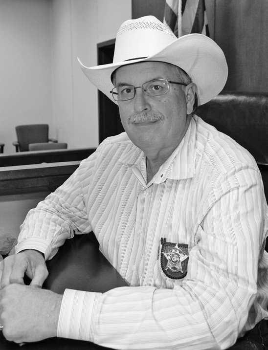 Atascosa County Sheriff David Soward.