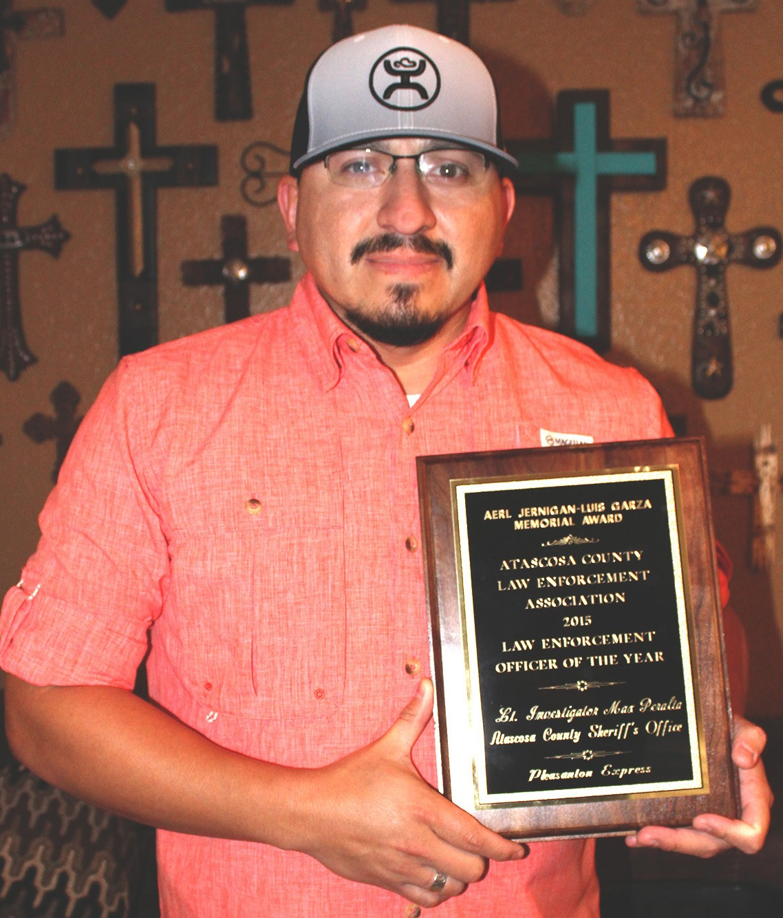 Lt. Investigator Max Peralta ACLEOA Officer of the Year